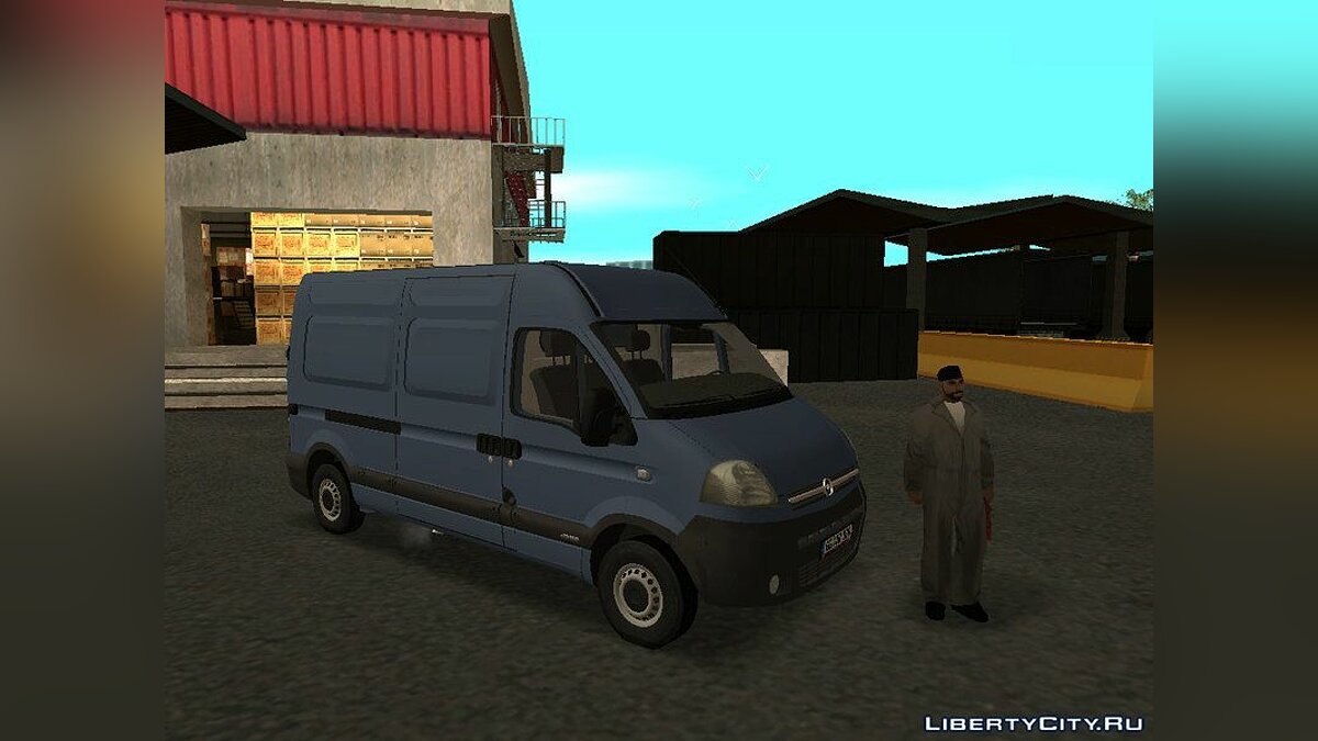 Opel movano for GTA San Andreas - screenshot #2