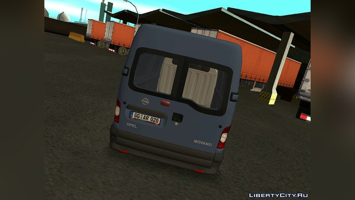 Opel movano for GTA San Andreas - screenshot #3