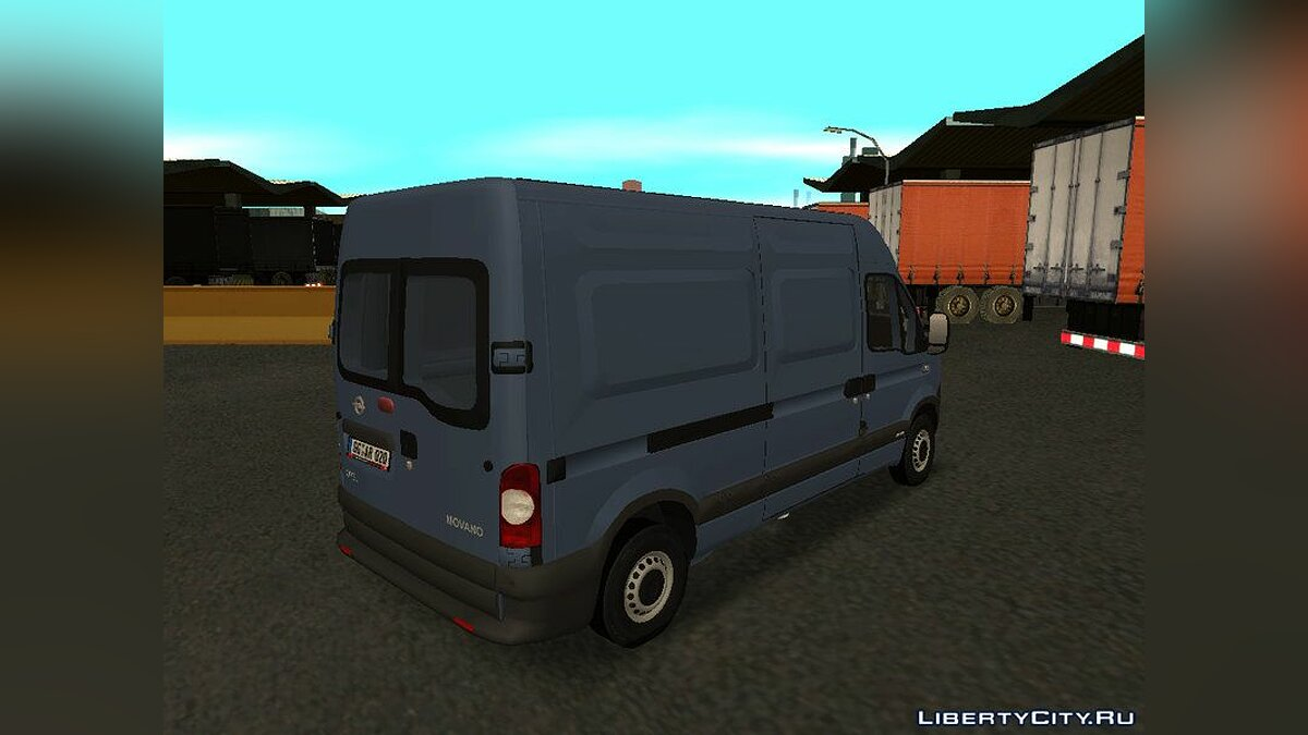 Opel movano for GTA San Andreas - screenshot #4