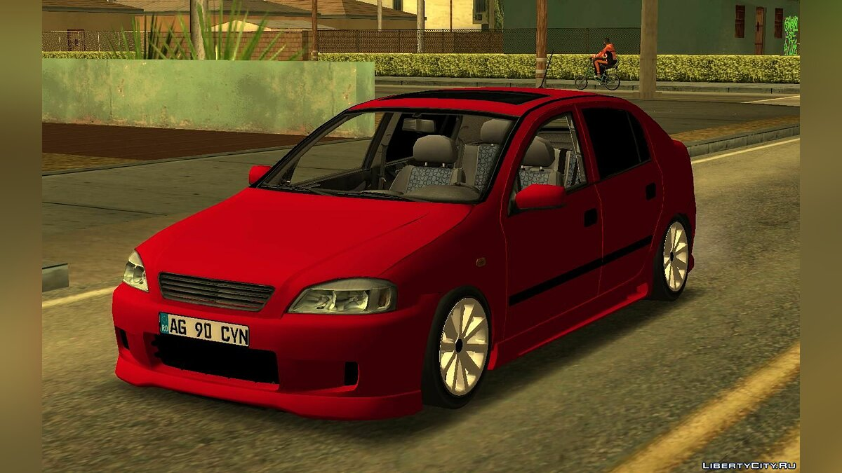 Opel car Opel Astra G 90 CYN for GTA San Andreas