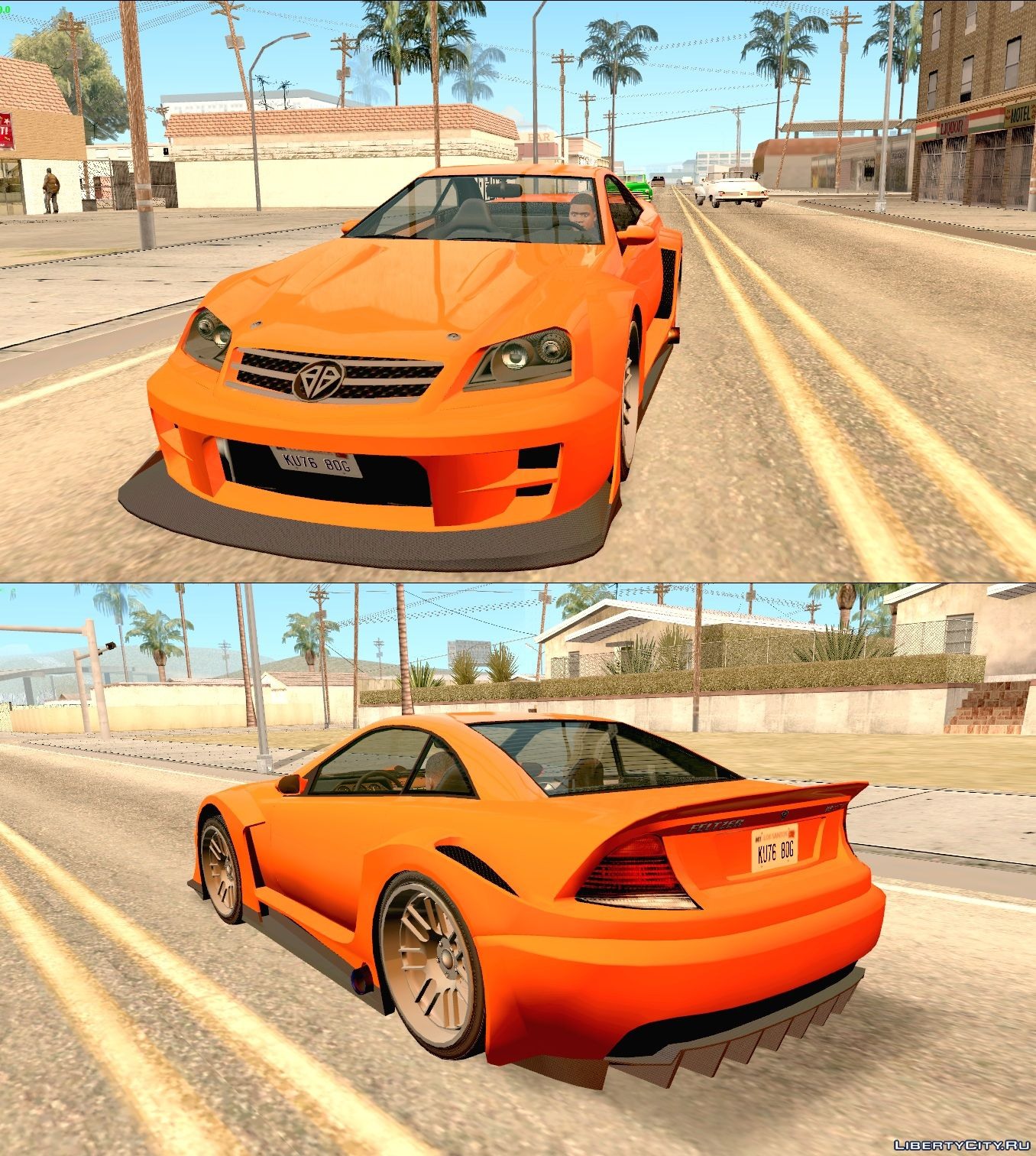 Replacement Of Feltzer.txd In GTA San Andreas (84 File