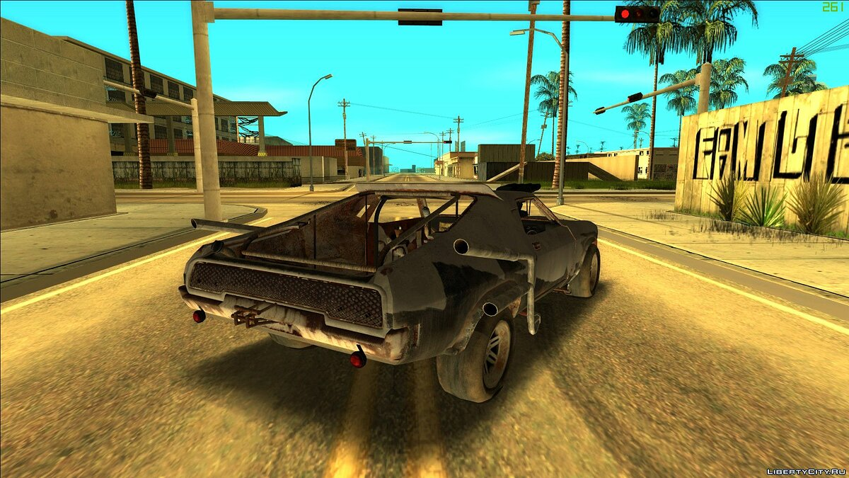 Other car Speed Freak (Mad Max) for GTA San Andreas