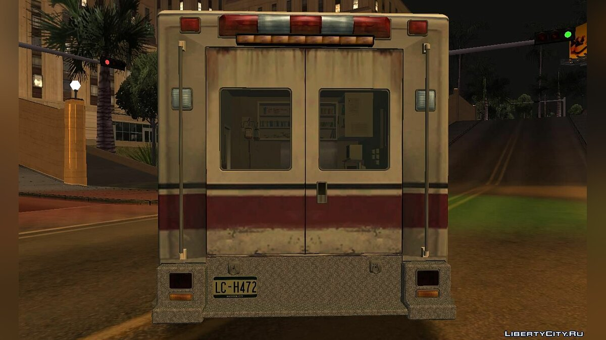 Other car Ambulance car as in Resident evil: Operation Raccoon City for GTA San Andreas