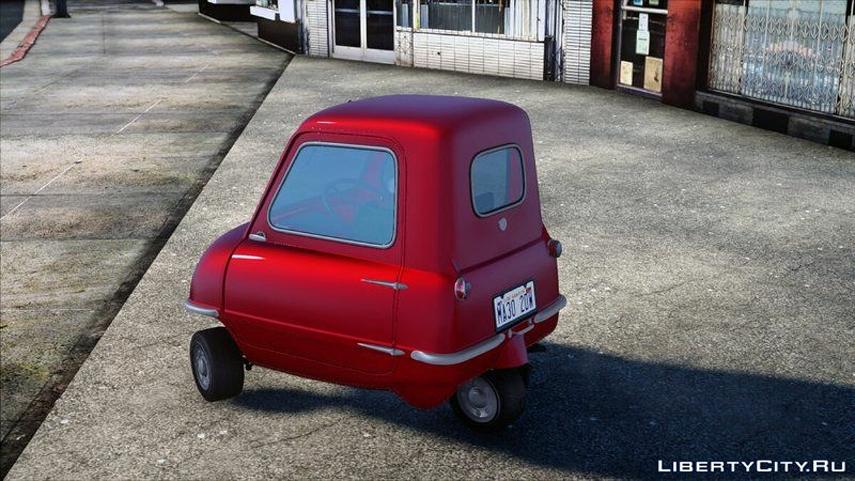 Other car 1962 Peel P50 for GTA San Andreas