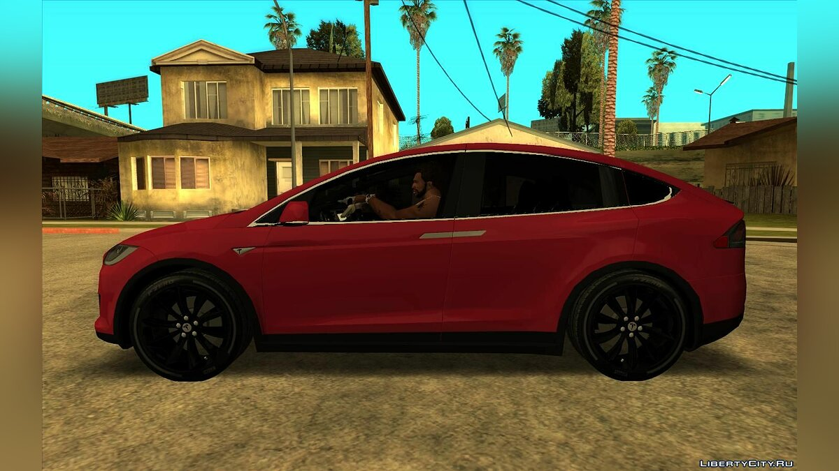Other car Tesla Model X 2020 for GTA San Andreas