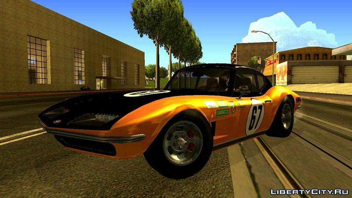 Other car Invetero Coquette Classic Hardtop from GTA 5 for GTA San Andreas