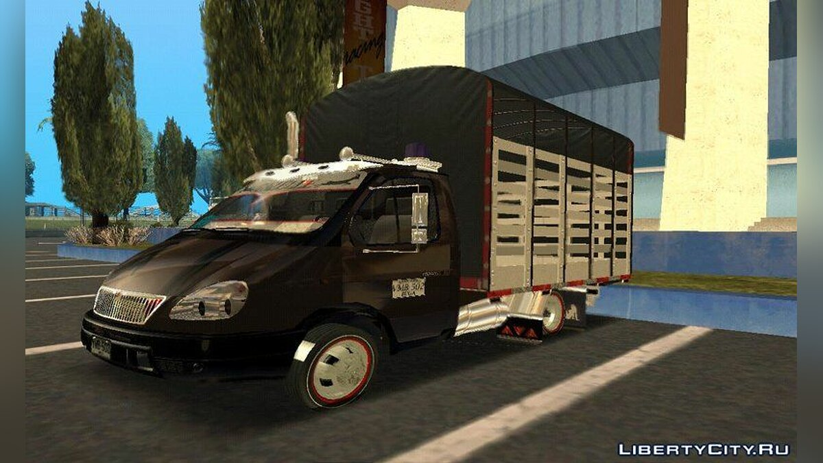 Other car Gazelle colombiano for GTA San Andreas