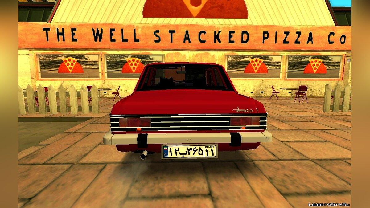 Other car Ikco Peykan 57 for GTA San Andreas