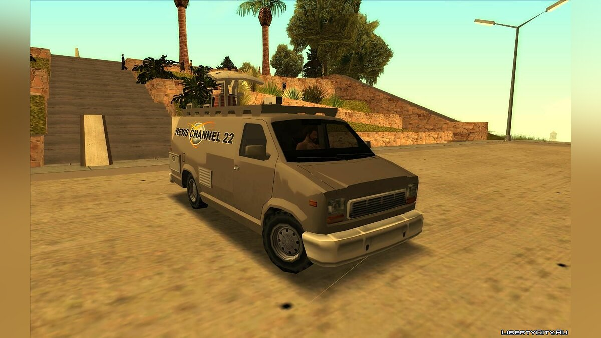 Other car NFS MW: cars from traffic Van and Newsvan (Mullido) for GTA San Andreas