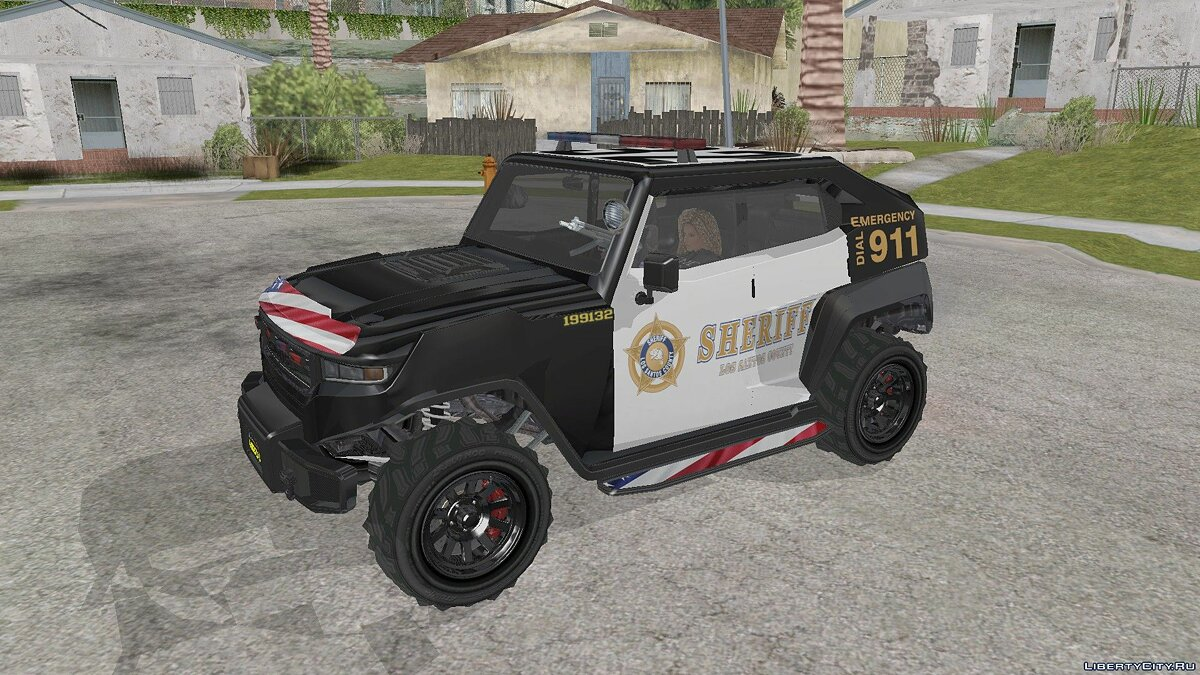 Other car Canis Freecrawler Police from GTA 5 for GTA San Andreas