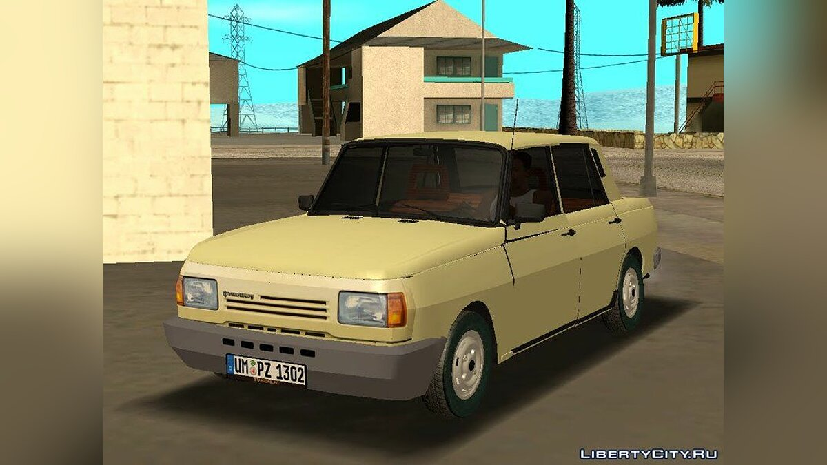 Other car 1991 Wartburg 1.3 Limousine for GTA San Andreas