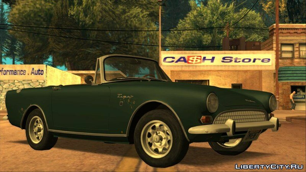 Other car Sunbeam Tiger Mk.2 1967 (US-Spec) for GTA San Andreas