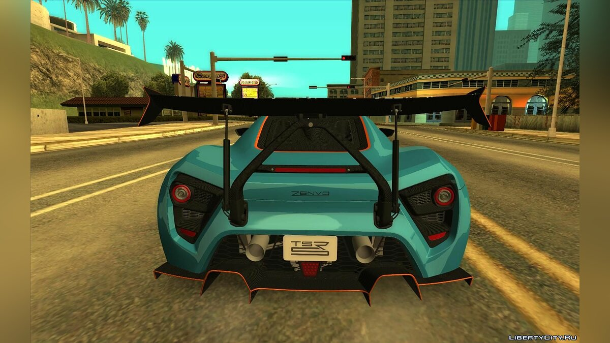Other car Zenvo TSR-S for GTA San Andreas