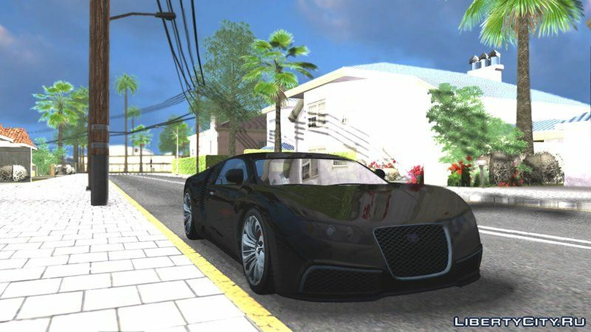 Truffade Adder Next Gen for GTA San Andreas