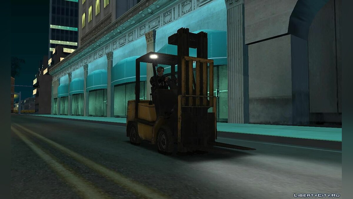 Other car Forklift from the game