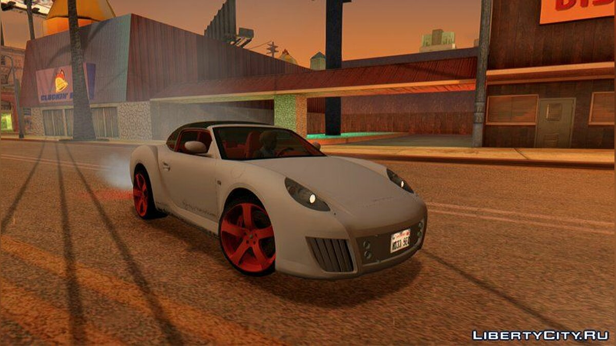 Other car 2006 Rinspeed zaZen Concept for GTA San Andreas