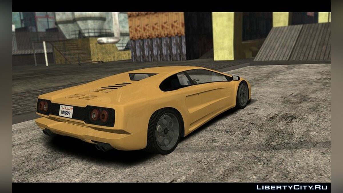 Other car Pegassi Infernus Classic from GTA 5 V3 [IVF] for GTA San Andreas