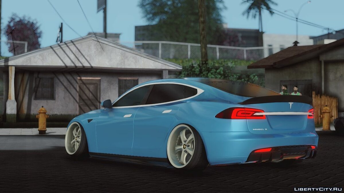 Other car Tesla Model S Stance for GTA San Andreas