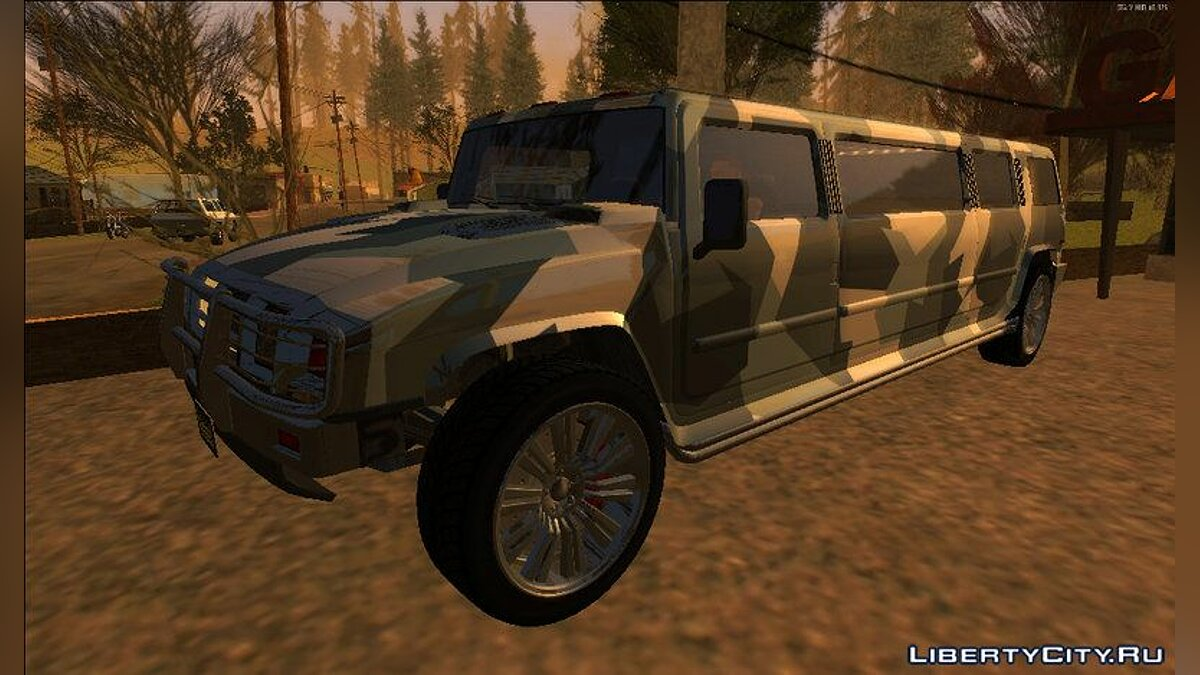 Other car GTA 5 Mammoth Patriot Stretch for GTA San Andreas