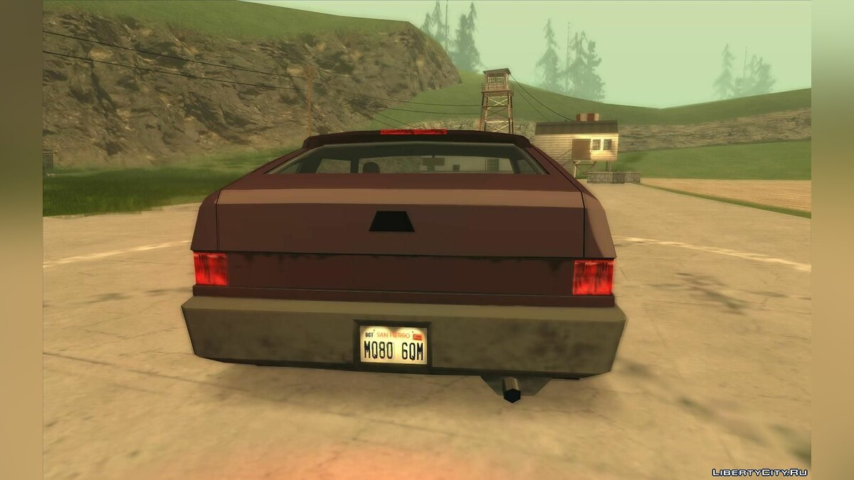 Other car Civilian transport from NFS: Most Wanted for GTA San Andreas