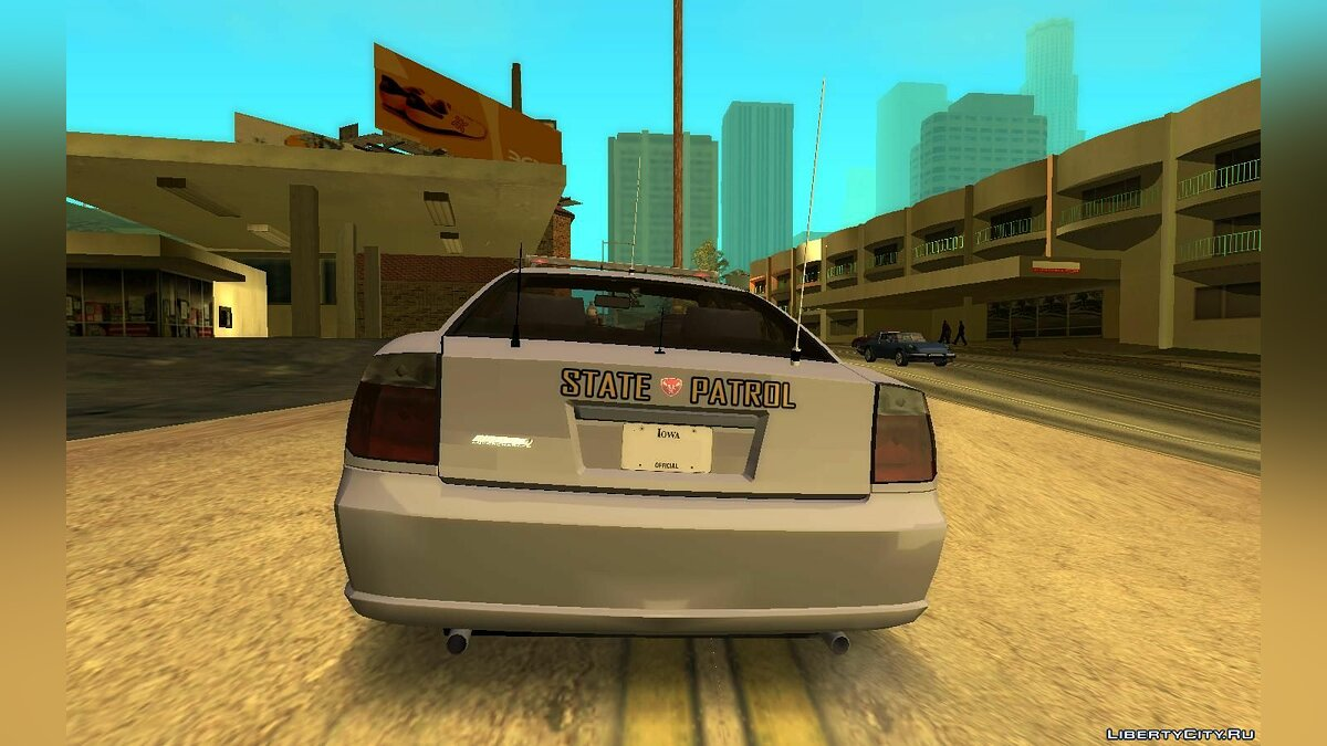 Other car 2009 Bravado Buffalo San Andreas State Patrol for GTA San Andreas