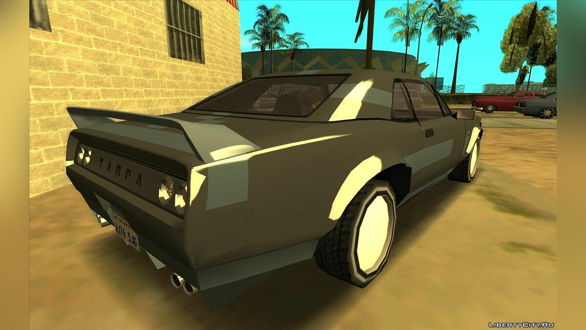 Other car GTA 5 Tampa (Lowpoly) for GTA San Andreas