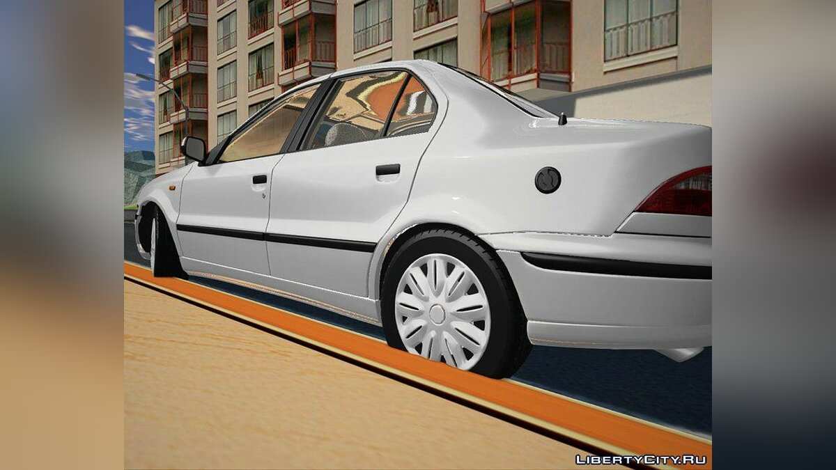 Other car Samand LX EF7 v2 for GTA San Andreas