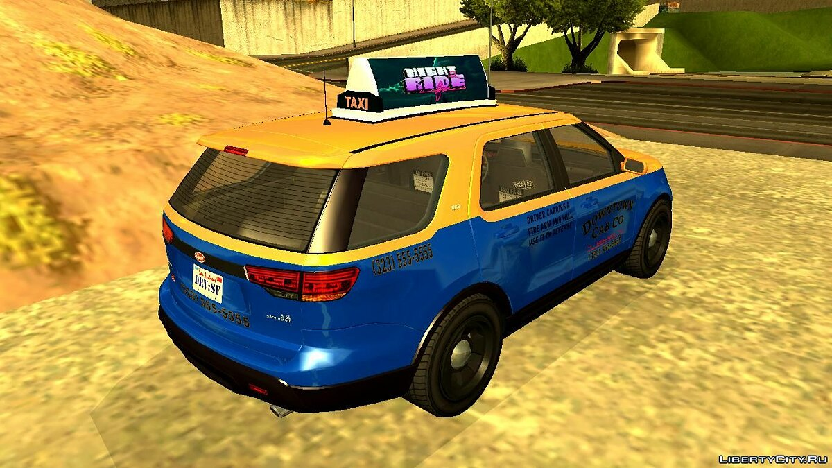Other car GTA V Vapid Scout Taxi for GTA San Andreas