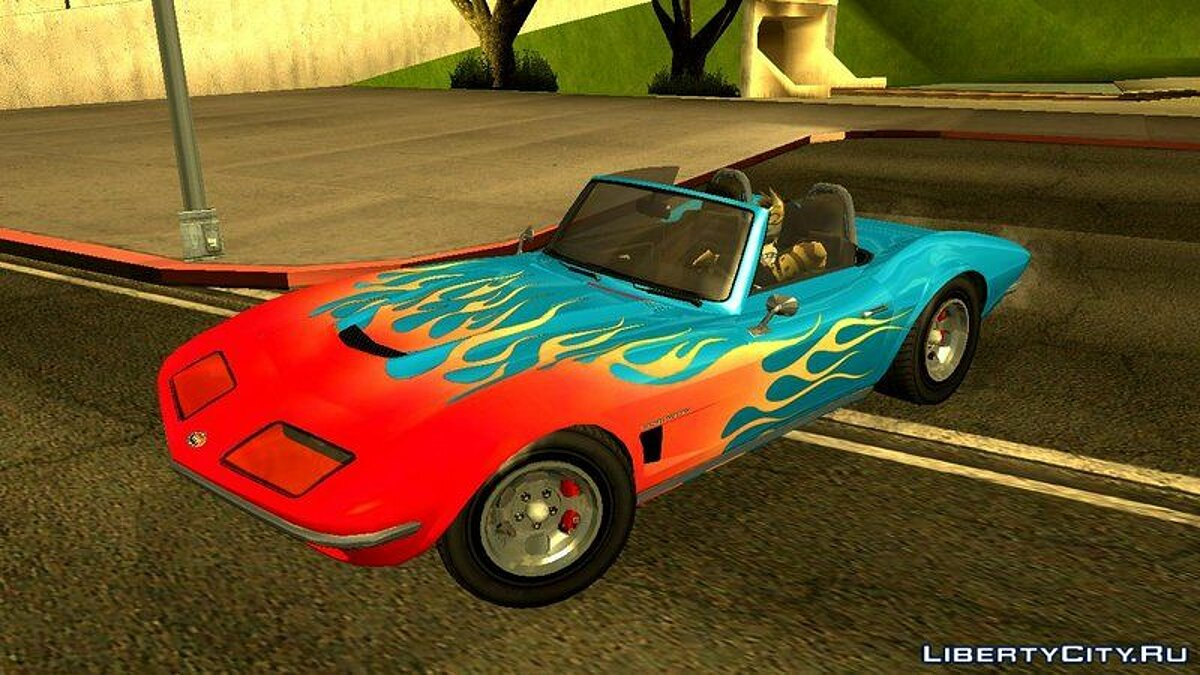 Other car Invetero Coquette Classic Topless from GTA 5 for GTA San Andreas