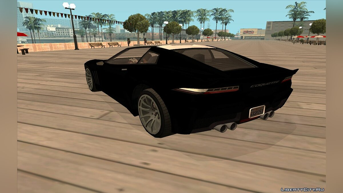 Other car Invereto Coquette from GTA 5 for GTA San Andreas