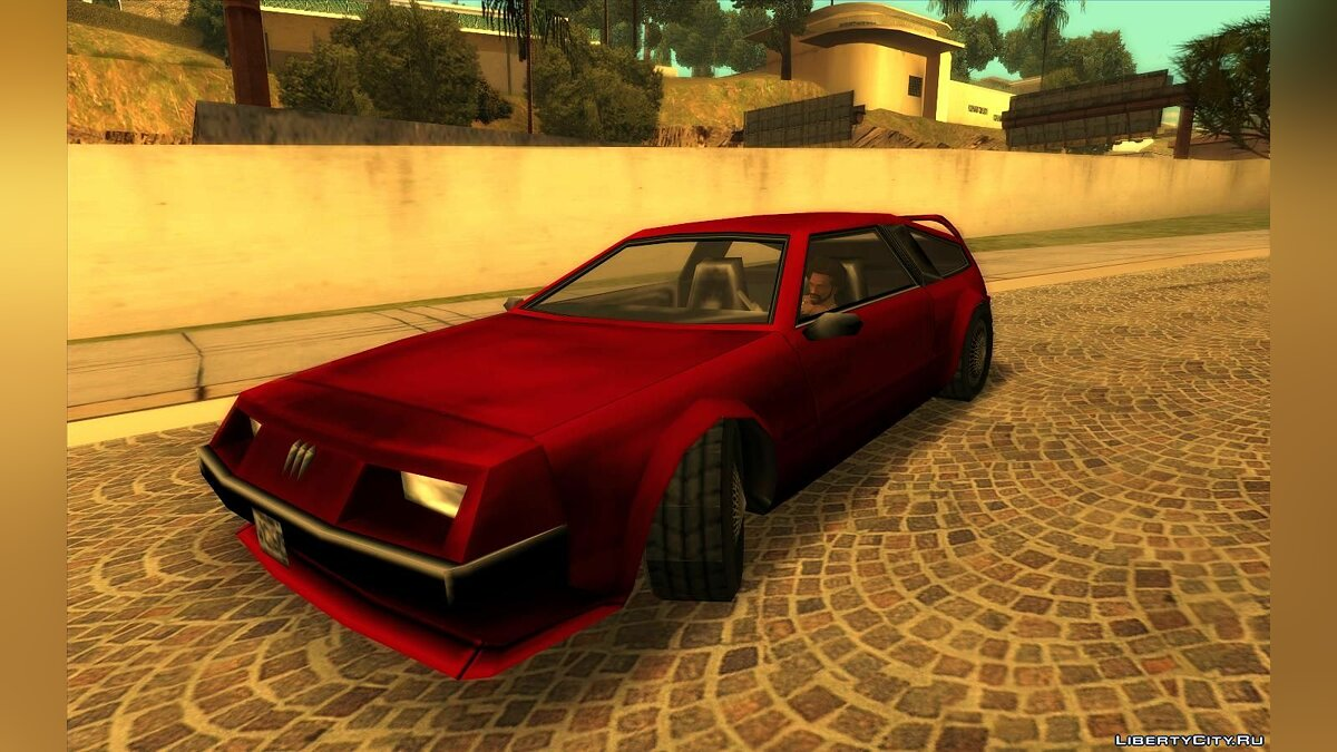 Other car Deluxo from GTA Vice City for GTA San Andreas