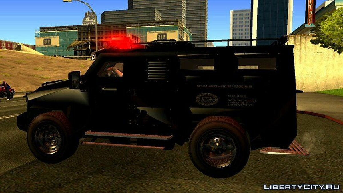 Other car NFS MW 2012 SWAT Van for GTA San Andreas