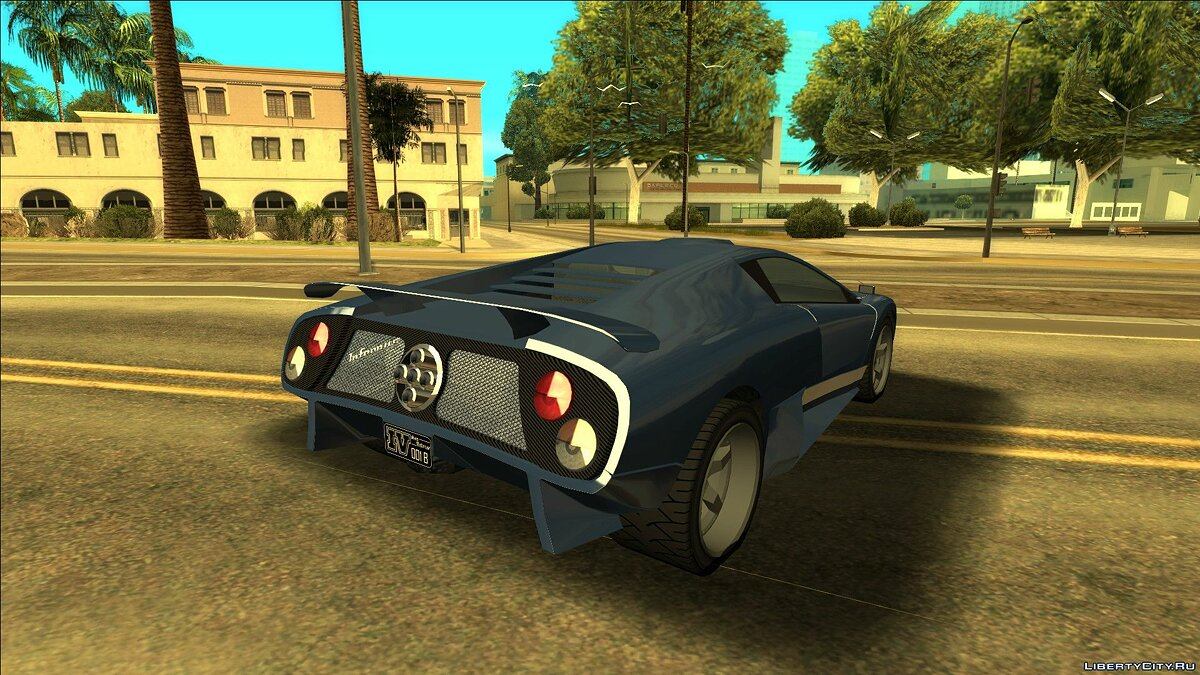 Other car Infernus from GTA 4 for GTA San Andreas