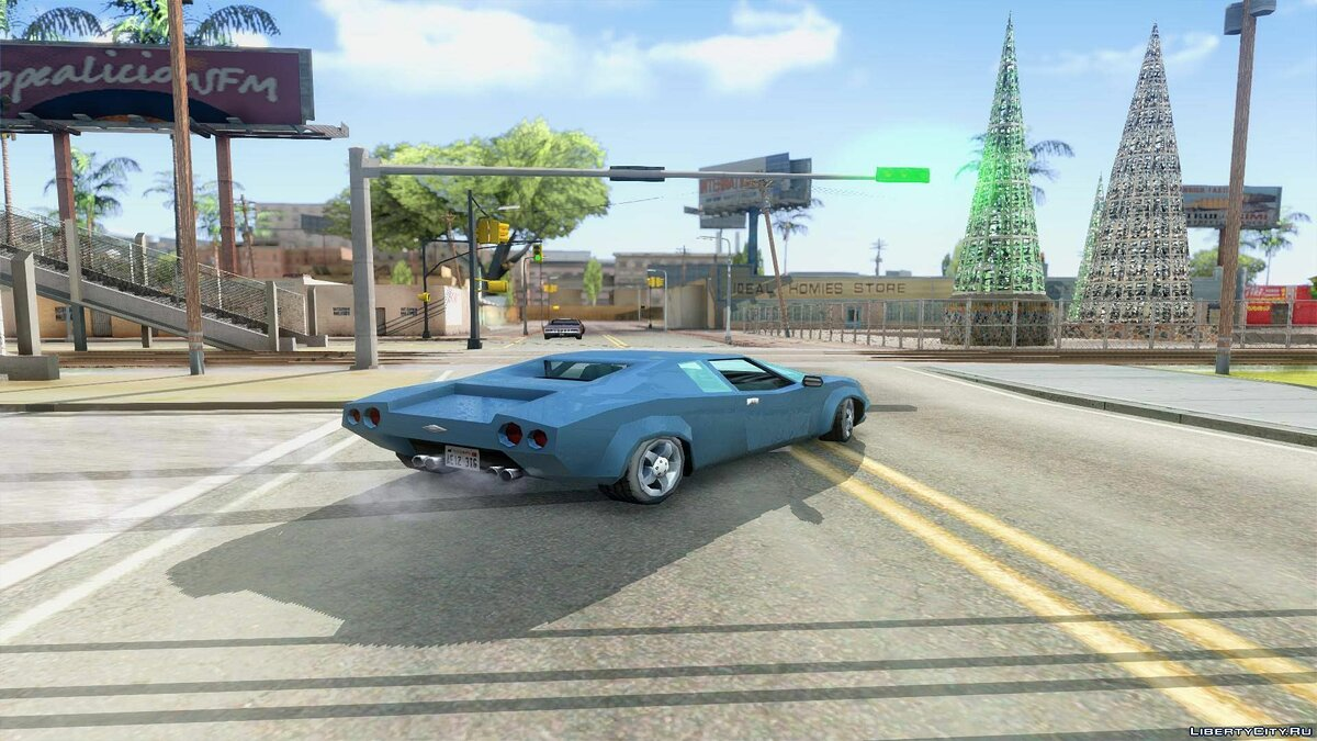 Other car Infernus from GTA VCS for GTA San Andreas