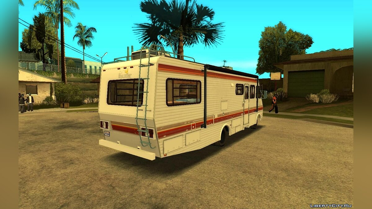 Other car 1986 Fleetwood Bounder for GTA San Andreas
