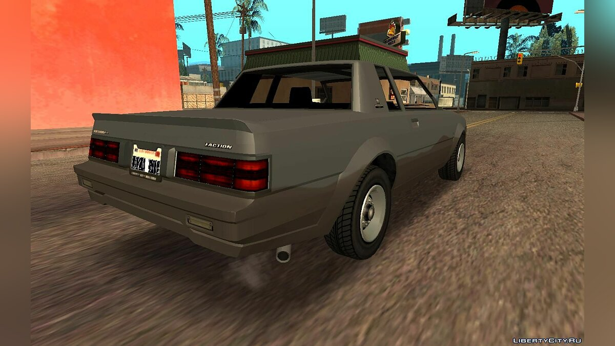 Other car Willard Faction from GTA 5 for GTA San Andreas