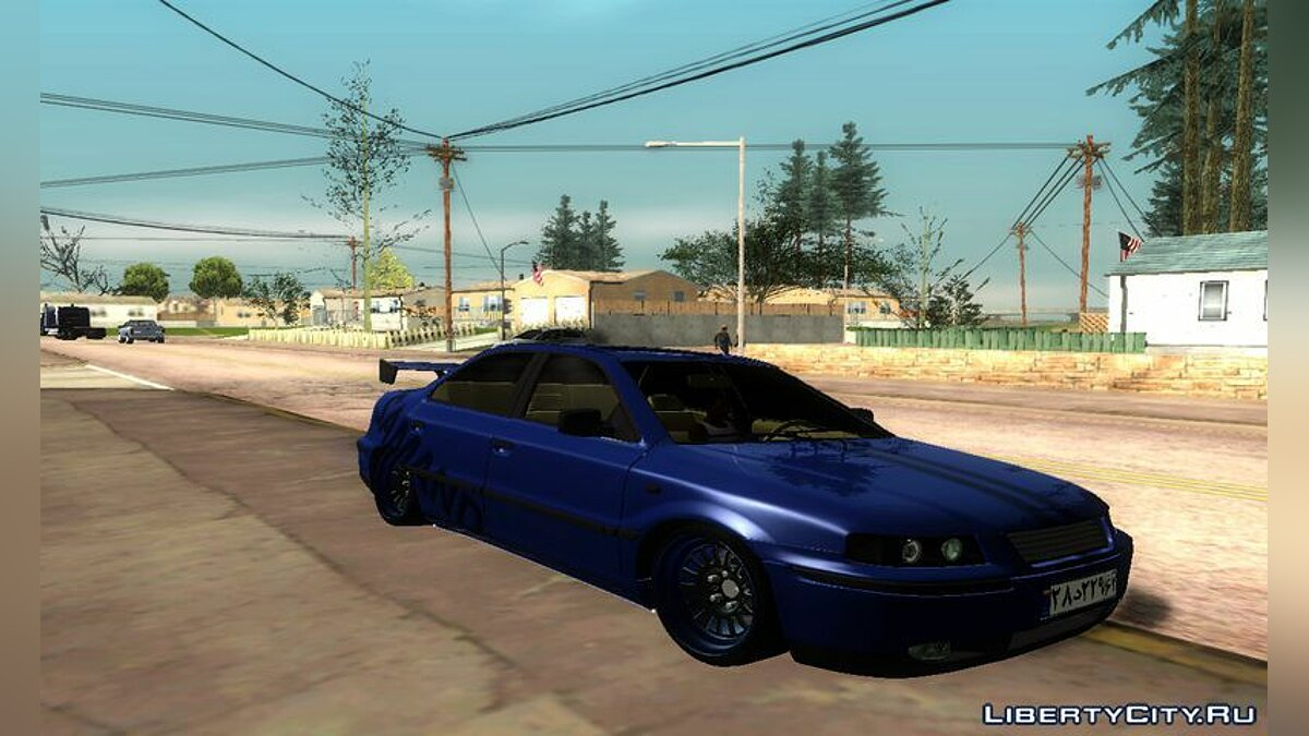 Other car Ikco Samand Tuning for GTA San Andreas