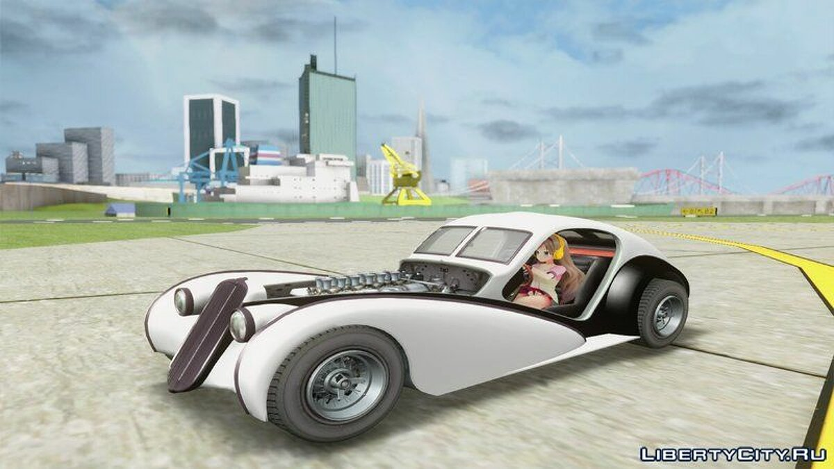 Other car GTA 5 Truffade Z-Type for GTA San Andreas