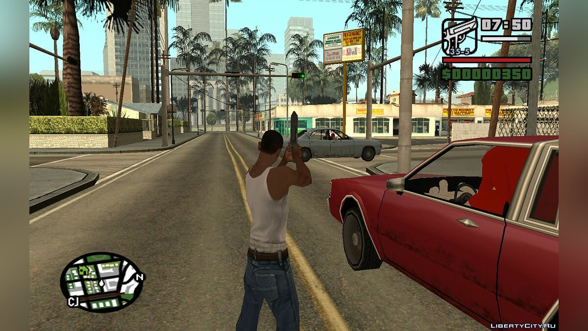 File The ability to shoot without misses for GTA San Andreas