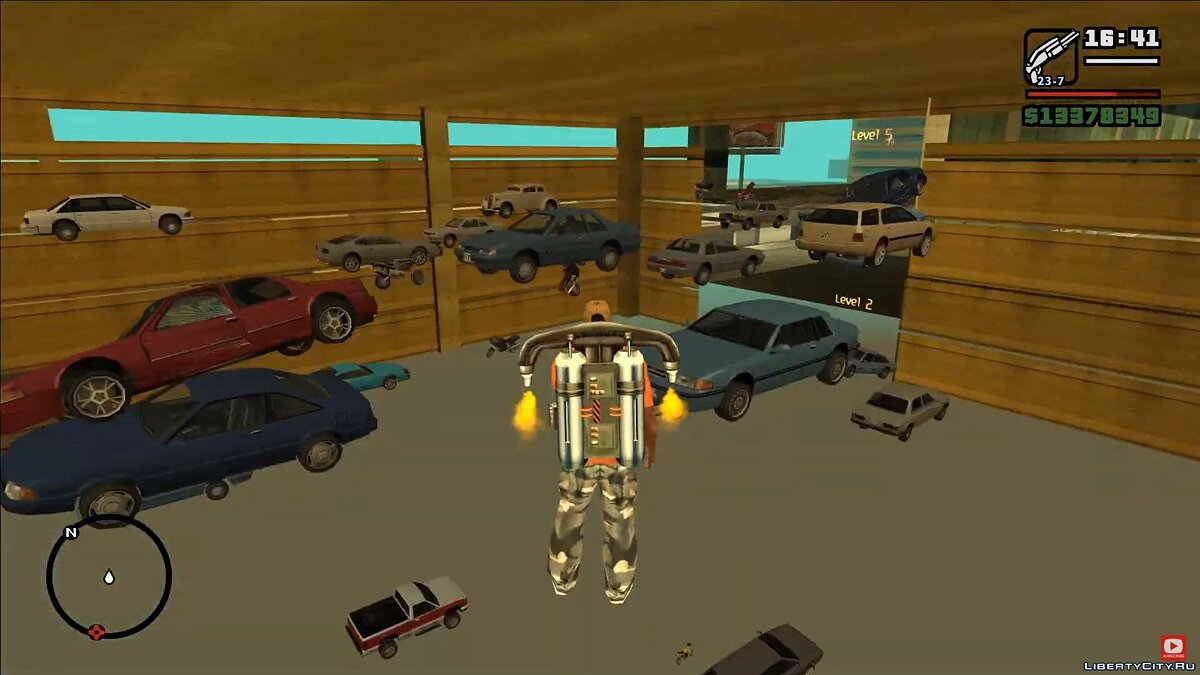 Video About the intangible LOD world in GTA San Andreas for GTA San Andreas