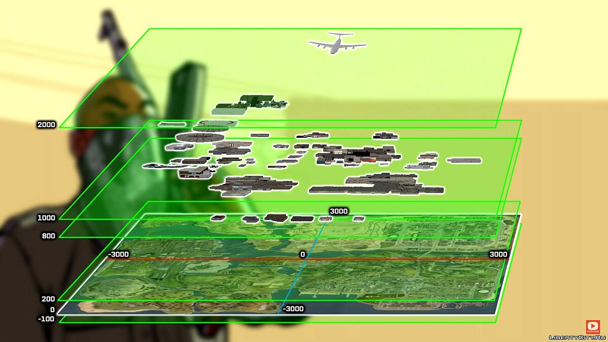 Video How worlds and airspace work in GTA San Andreas for GTA San Andreas