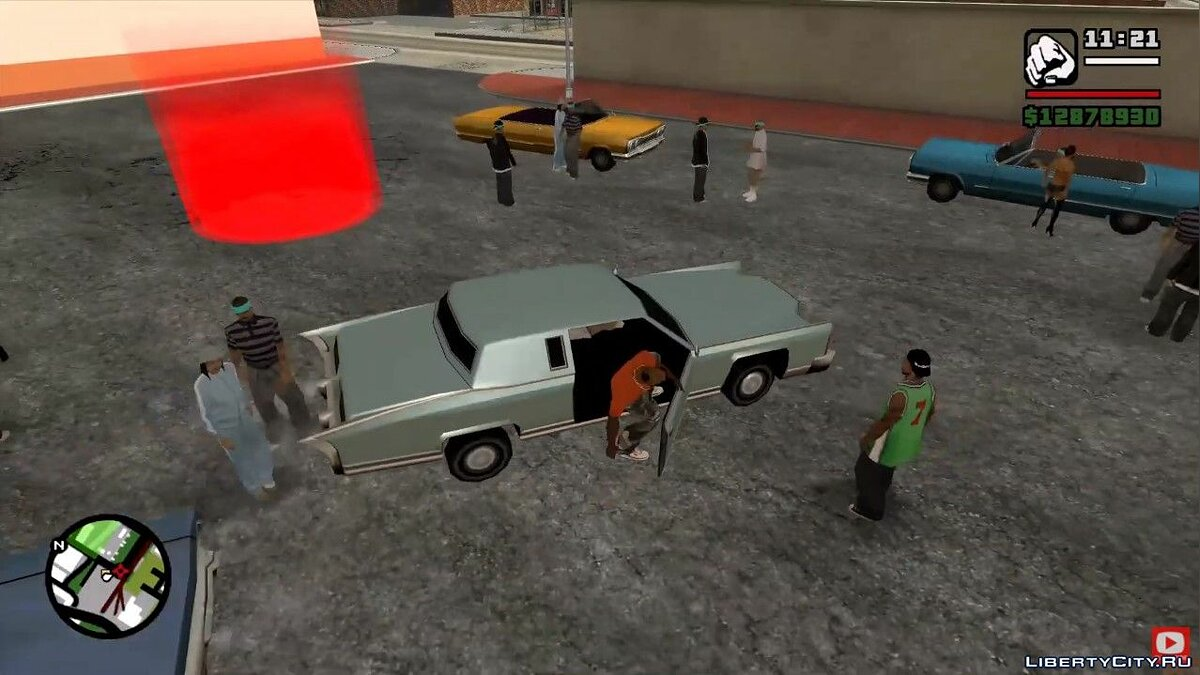 Video How to ride an enemy's Remington at a lowrider meeting in GTA San Andreas for GTA San Andreas