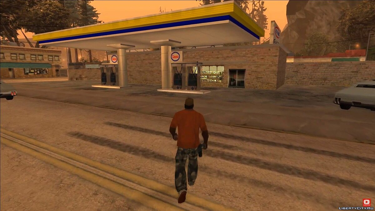 Video Overview of the interiors of Gasso and RS Haul in GTA San Andreas for GTA San Andreas