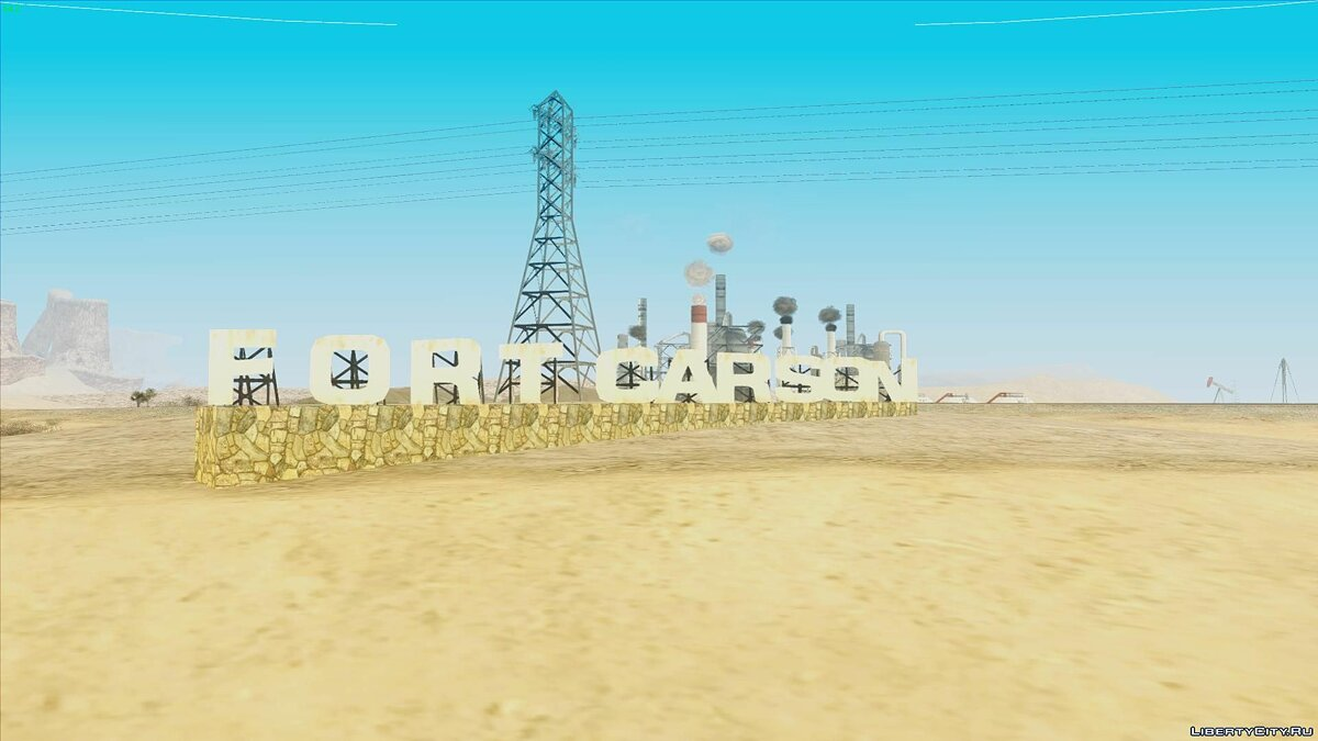Video Journey through San Andreas # 1: Fort Carson (Pilot) for GTA San Andreas