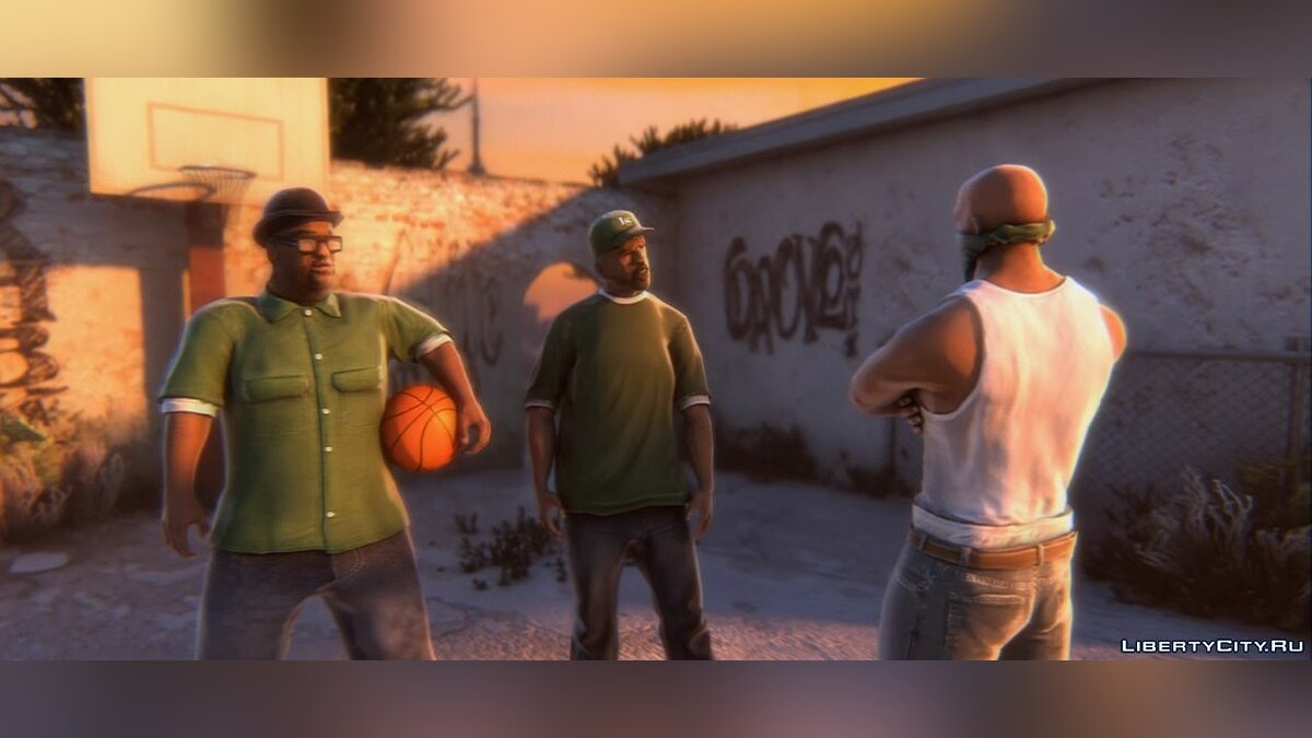 Grand Theft Auto: San Andreas - Remastered Trailer for GTA San Andreas - Картинка #4