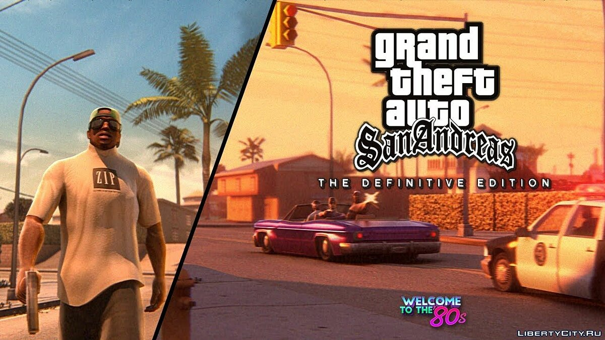 Grand Theft Auto: San Andreas - Remastered Trailer for GTA San Andreas - Картинка #1