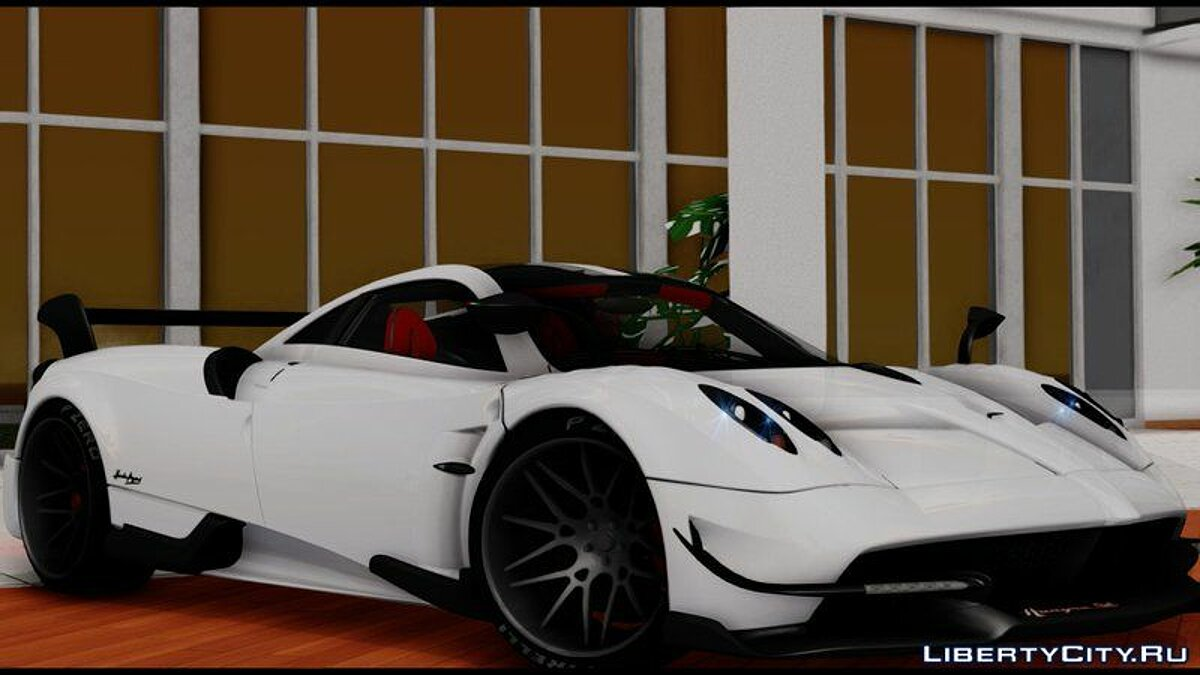 Pagani car Pagani Huayra BC 2016 for GTA San Andreas