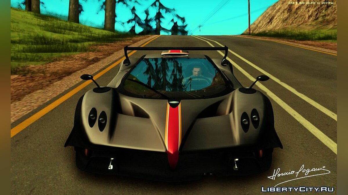 Pagani car 2015 Pagani Zonda Revolucion for GTA San Andreas