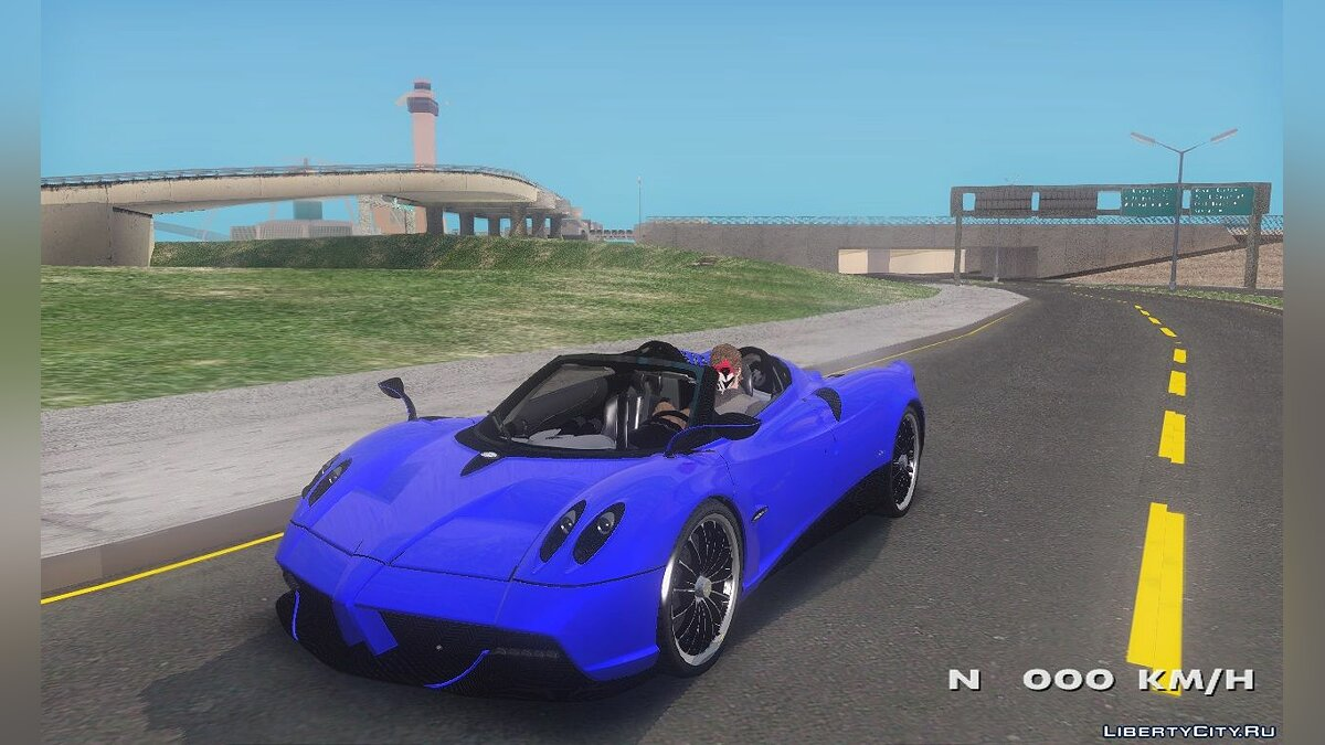 Pagani car Pagani Huayra Roadster for GTA San Andreas