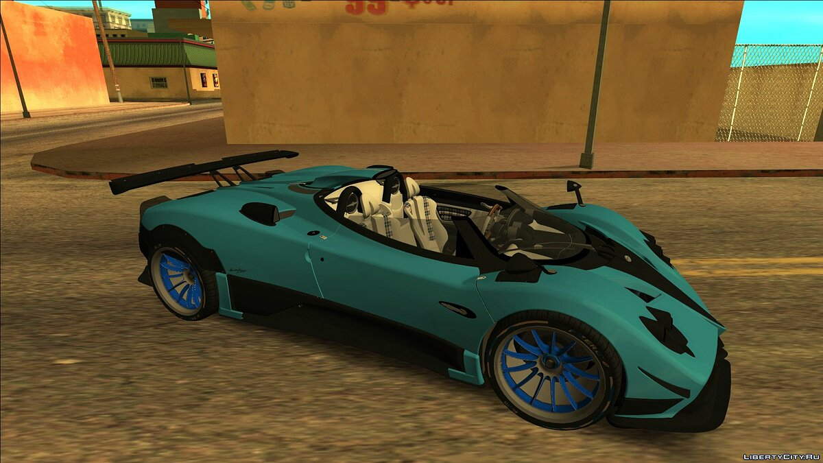 Pagani car Pagani Zonda Barchetta 2018 for GTA San Andreas
